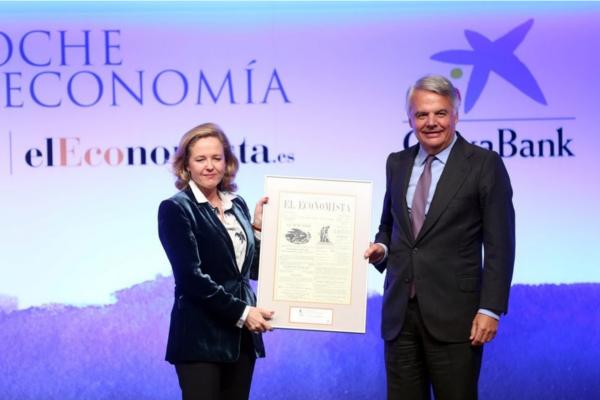 Ignacio Garralda recoge premio a la igualdad